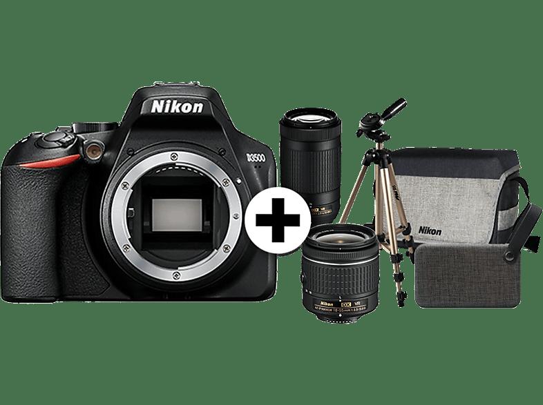 NIKON D3500 DOUBLE SPECIAL KIT (AF-P 18-55 VR & AF-P 70-300 VR) hobby   φωτογραφία φωτογραφικές μηχανές dslr cameras