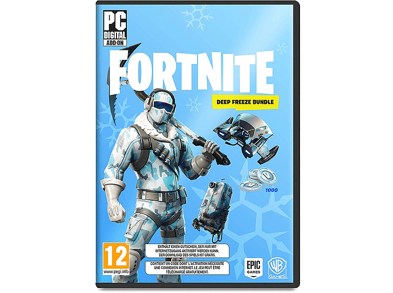 Fortnite Deep Freeze Bundle (σε ψηφιακή μορφή) PC gaming games pc games