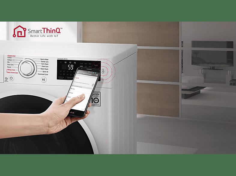 LG mosógép Smart ThinQ