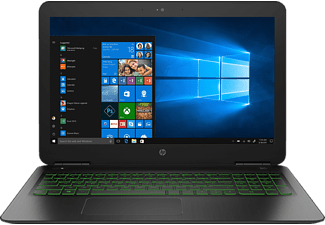 HP 15-dp0305ng, Gaming Notebook mit 15.6 Zoll Display, Core™ i5 Prozessor, 8 GB RAM, 1 TB HDD, 128 GB SSD, GeForce® GTX 1060, Schwarz/Grün