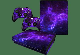 CONSOLE SKINS Dark Galaxy Xbox One X