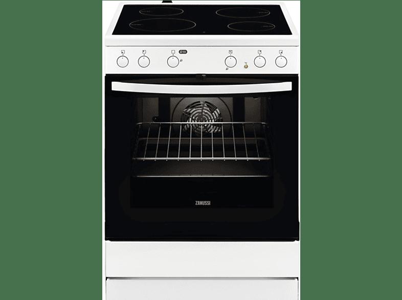 ZANUSSI ZCV65030WA οικιακές συσκευές κουζίνες ηλεκτρικές κουζίνες