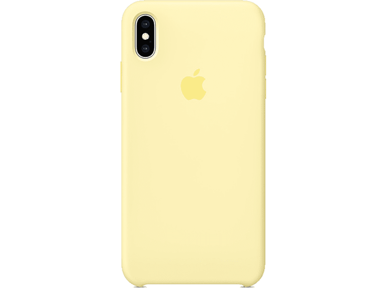 APPLE Θήκη iPhone XS Max Silicone Case - Mellow Yellow smartphones   smartliving iphone θήκες iphone