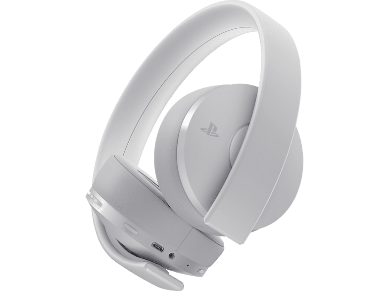 SONY Wireless Headset Wireless Gold/ White gaming απογείωσε την gaming εμπειρία αξεσουάρ ps4