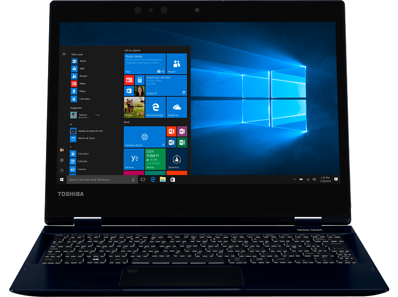 TOSHIBA Portege X20W-D-10P Intel Core i7-7500U / 8GB / 256GB SSD / Intel HD Grap laptop  tablet  computing  laptop laptop έως 14