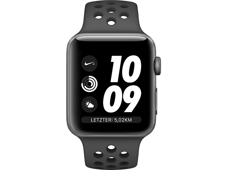 APPLE Watch Nike plus Series 3 GPS 38mm Space Grey (MTF12GK/A) smartphones   smartliving wearables smartwatches