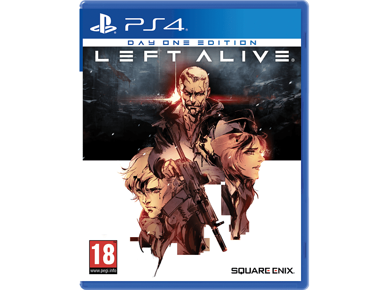 Left Alive Day One Edition PlayStation 4 gaming games ps4 games