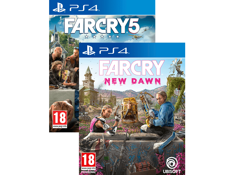 Far Cry 5 & Far Cry New Dawn PlayStation 4 gaming games ps4 games