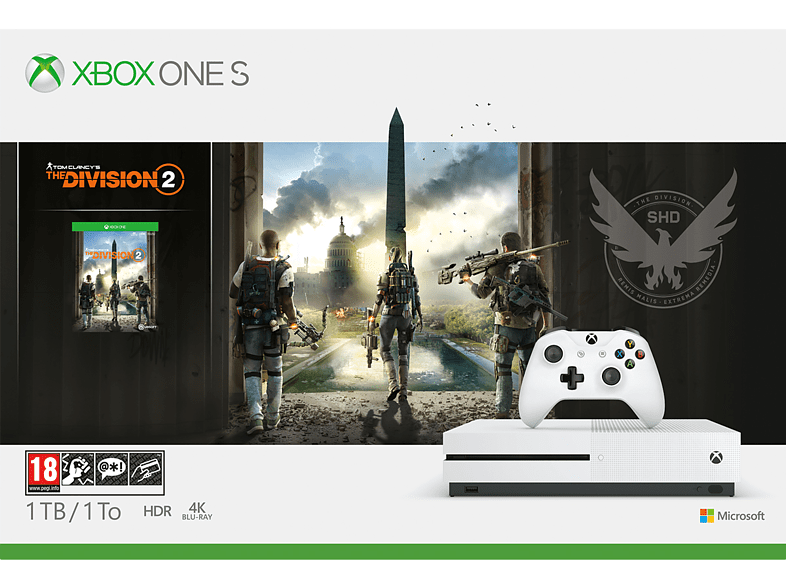 MICROSOFT Xbox One S 1TB The Division 2 gaming κονσόλες κονσόλες xbox one