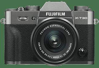 Fujifilm X-T30 systeemcamera Charcoal Silver + XC 15-45mm f-3.5-5.6 OIS PZ objectief Zwart