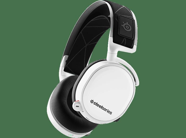 STEELSERIES Arctis 7 (2019 Edition) White gaming απογείωσε την gaming εμπειρία ακουστικά gaming
