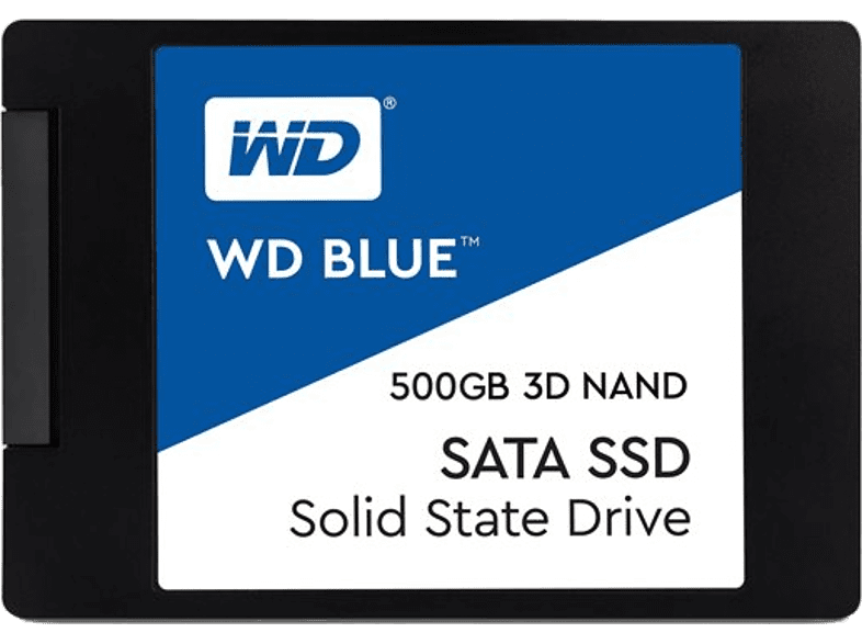 WESTERN DIGITAL Blue 3D NAND SATA SSD 500GB - WDS500G2B0A laptop  tablet  computing  αναβάθμιση υπολογιστή ssd laptop  tablet  computing
