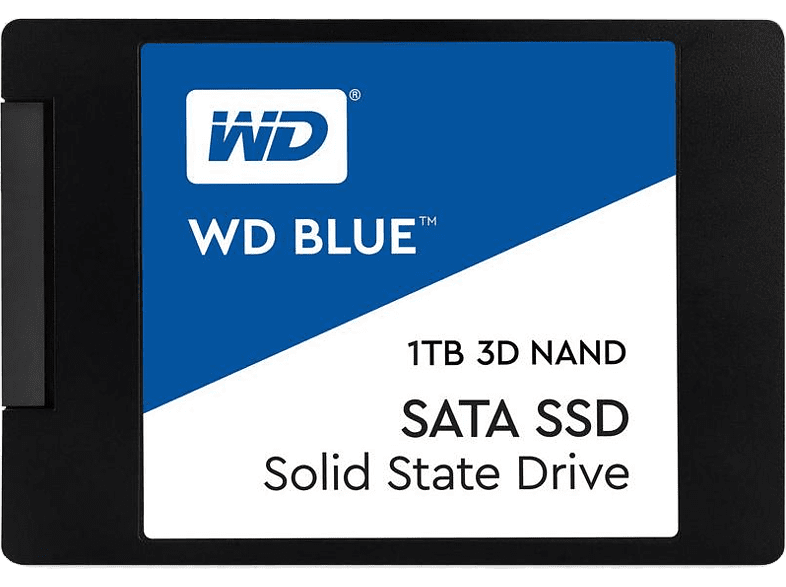 WESTERN DIGITAL Blue 3D NAND SATA SSD 1TB - WDS100T2B0A laptop  tablet  computing  αναβάθμιση υπολογιστή ssd laptop  tablet  computing