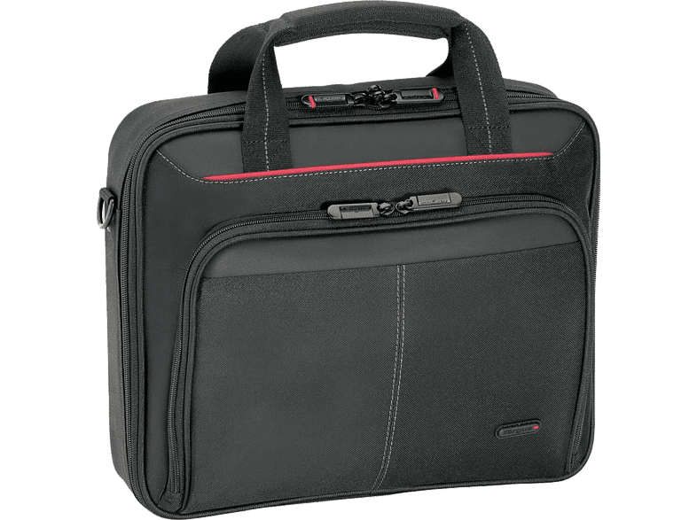 TARGUS CN418EU Clamshell Laptop Bag 17-18 Black/ Red computing   tablets   offline τσάντες  θήκες laptop  tablet  computing  laptop τ