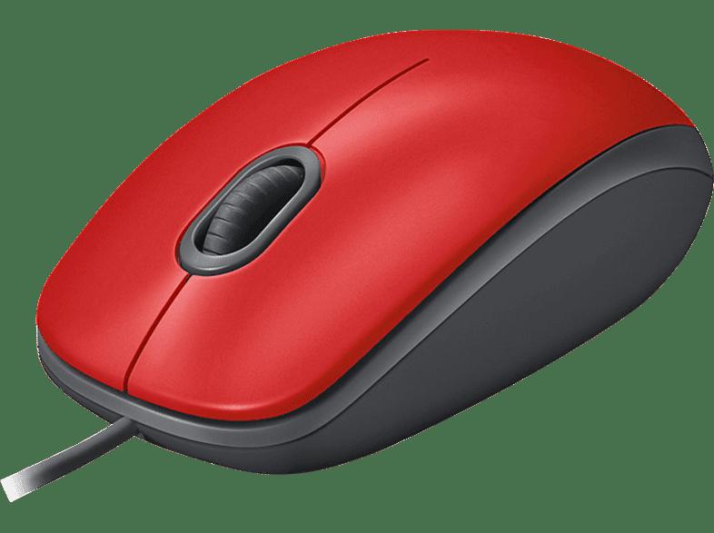 LOGITECH 910-005489 Mouse M110 Red laptop  tablet  computing  περιφερειακά πληκτρολόγια   ποντίκια