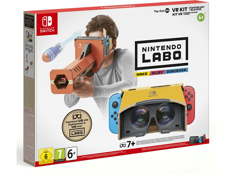Labo VR Kit Starter Set and Blaster Nintendo Switch gaming games switch games