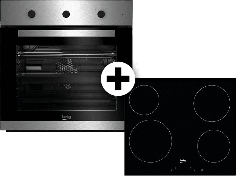BEKO BIE 22101X και HIC 64401 οικιακές συσκευές εντοιχιζόμενες συσκευές εντοιχιζόμενα σετ