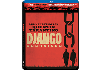 DJANGO UNCHAINED (STEEL-EDIT.) - (Blu-ray)