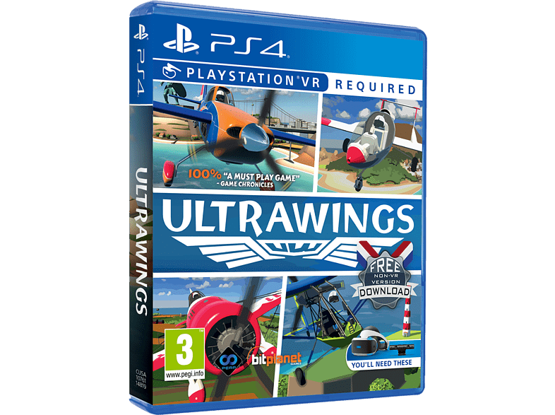 Ultra Wings VR PlayStation 4 gaming games ps4 games
