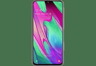 SAMSUNG Galaxy A40 64GB Koraal (Oranje)