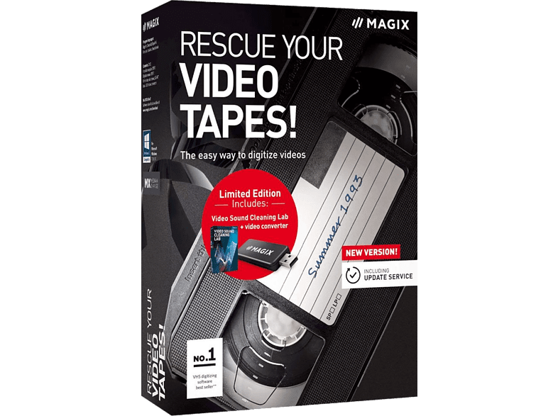 Magix Rescue your Videotapes laptop  tablet  computing  software προγράμματα επεξεργασίας εικόνας ήχου