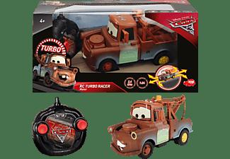 DICKIE TOYS RC Fahrzeug Cars 3 Turbo Racer Mater RC Fahrzeug, Braun