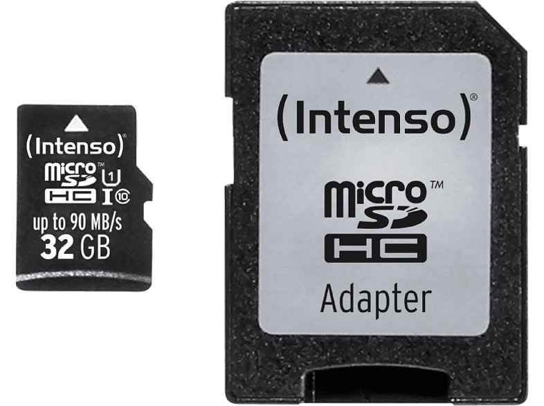INTENSO microSDHC UHS-I Professional 32GB - 3433480 laptop  tablet  computing  tablet   ipad κάρτες μνήμης hobby   φωτογραφία φωτογρ