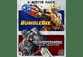Transformers 1-5 Bumblebee box, (Blu-Ray). BLURAY