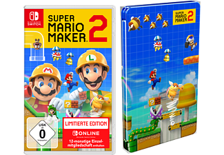 Super Mario Maker 2 (Limitierte Edition + Steelbook / Nur Online) - Nintendo Switch