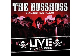 The BossHoss - Stallion Battalion Live - (CD)