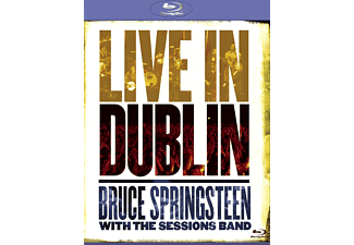 Bruce Springsteen;The  Session Band - LIVE IN DUBLIN - (Blu-ray)