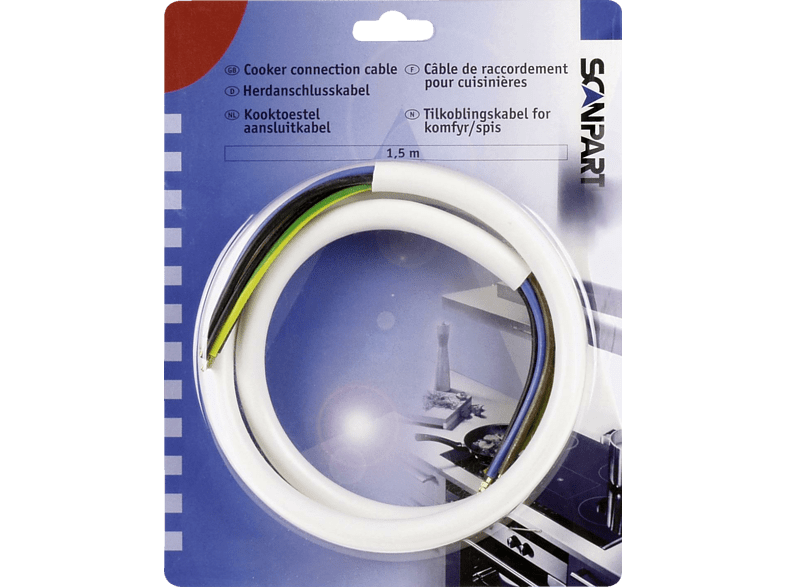 SCANPART Καλώδιο σύνδεσης φούρνου 1191015525 οικιακές συσκευές   offline αξεσουάρ οικιακών συσκευών οικιακές συσκευές κουζίνε