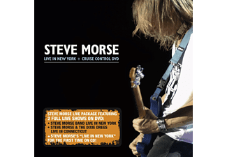 Steve Morse - Live In New York+Cruise Control Dvd - (CD + DVD Video)