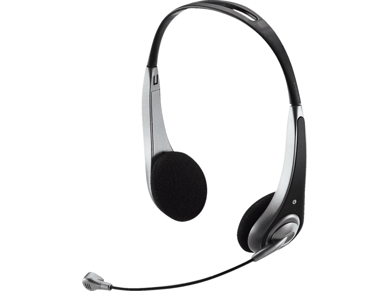 TRUST InSonic Chat Headset Black 15481 computing   tablets   offline ηχεία  headsets  webcams headsets τηλεόραση   ψυχα