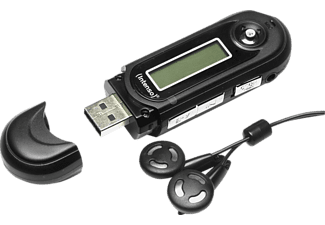 INTENSO 3601460 Music Walker MP3 Player (8 GB, Schwarz)