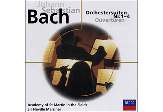 Sir Neville Marriner, Neville/amf/+ Marriner - ORCHESTERSUITEN 1-4 BWV1066-69 - (CD)