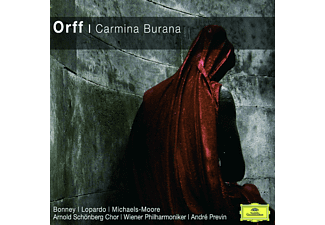 Various, Bonney/Lopardo/Michaels-Moore/Previn/Wp/+ - Carmina Burana (Cc) [CD]