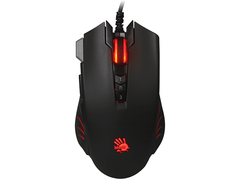 A4 Tech Bloody V9Ma Uc3&4 4000Cpı Optik Gaming Mouse Siyah