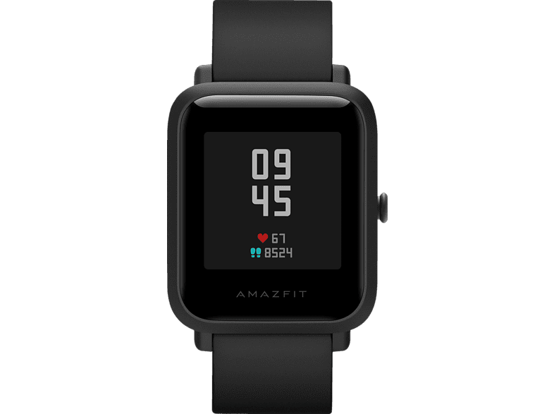 AMAZFIT BIP S, Smartwatch, 85 mm + 110 mm, Carbon Black Smartwatch | MediaMarkt