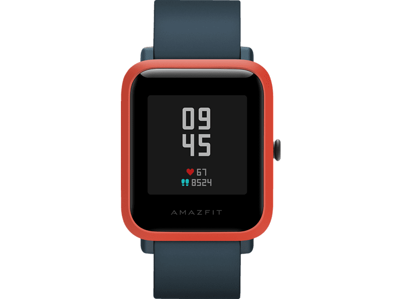 AMAZFIT BIP S, Smartwatch, 85 mm + 110 mm, Red Orange Smartwatch | MediaMarkt
