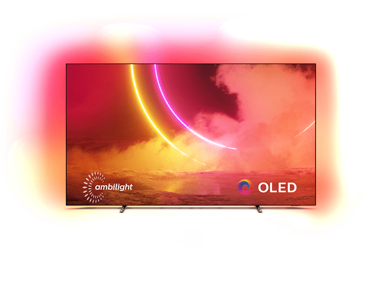 Philips 55OLED805/12: 4K-OLED-TV, 55 Zoll, Ambilight, 2020er-Modell