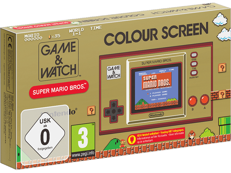 NINTENDO Game & Watch: Super Mario Bros. Spielekonsole in Mehrfarbig