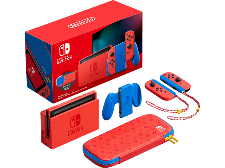 NINTENDO Switch Mario Red & Blue Edition (Limitiert)