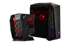 MSI gaming desktops