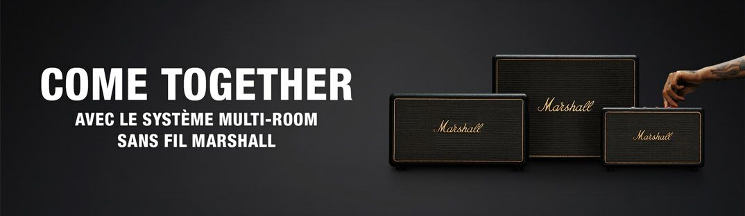 Come Together - Le système Multiroom de Marshall