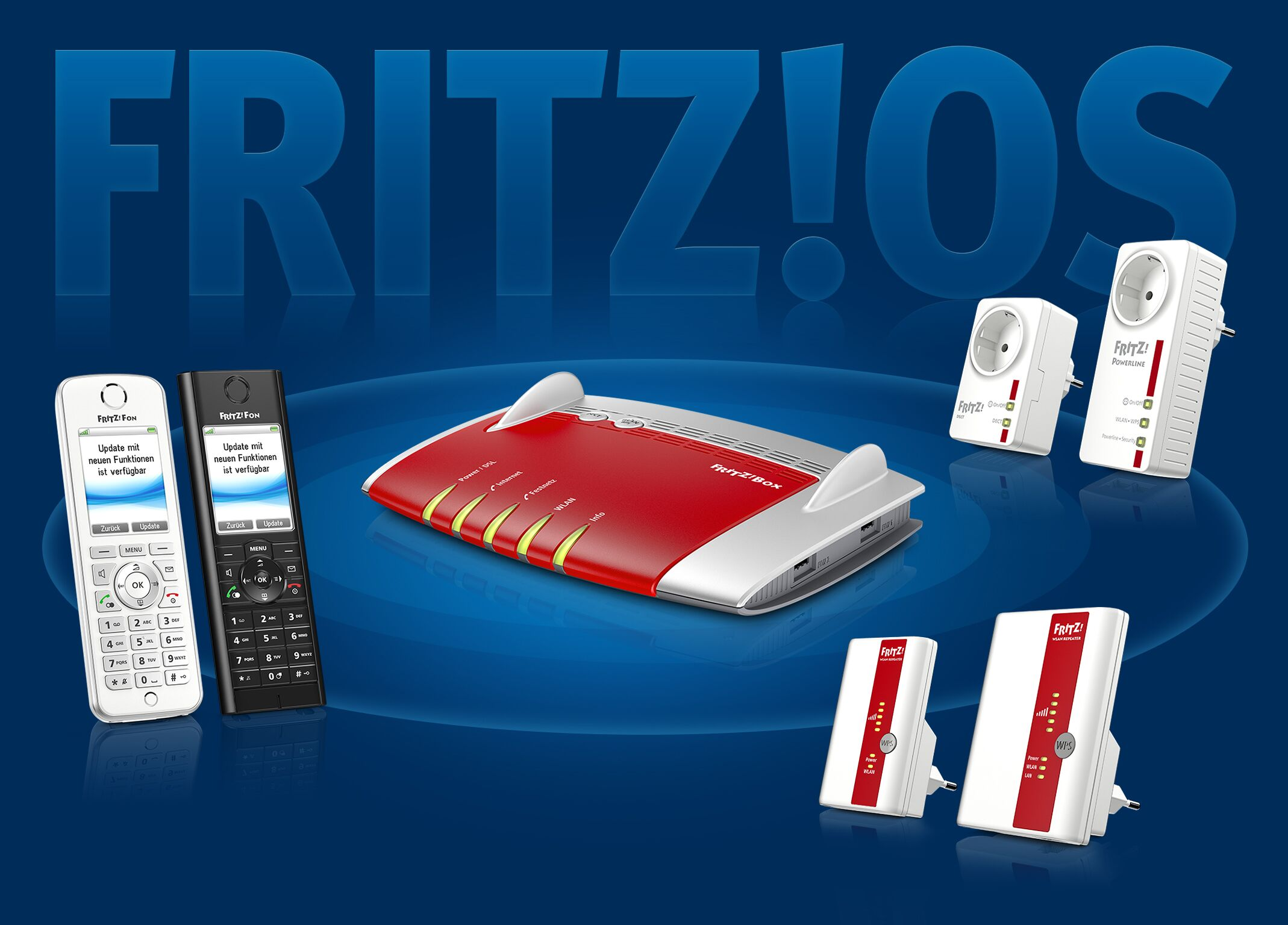AVM Fritzbox Smart Home Komponenten