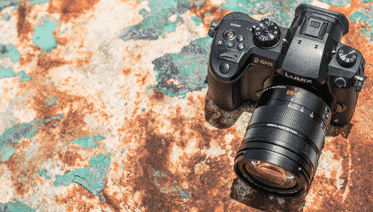 panasonic photo hybride objectif