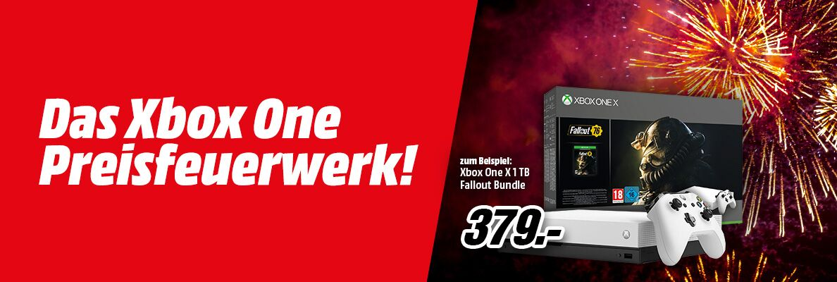 [mediamarkt.at] Xbox One X Bundles za 379€