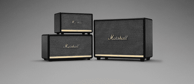Marshall bluetoothspeakers speakers