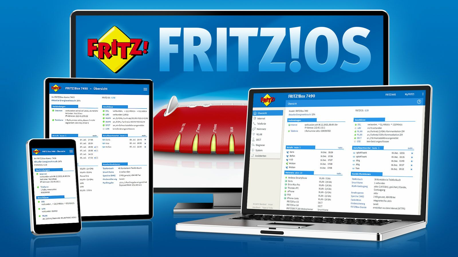 FritzOS 6.50 Smart Home Funktionen